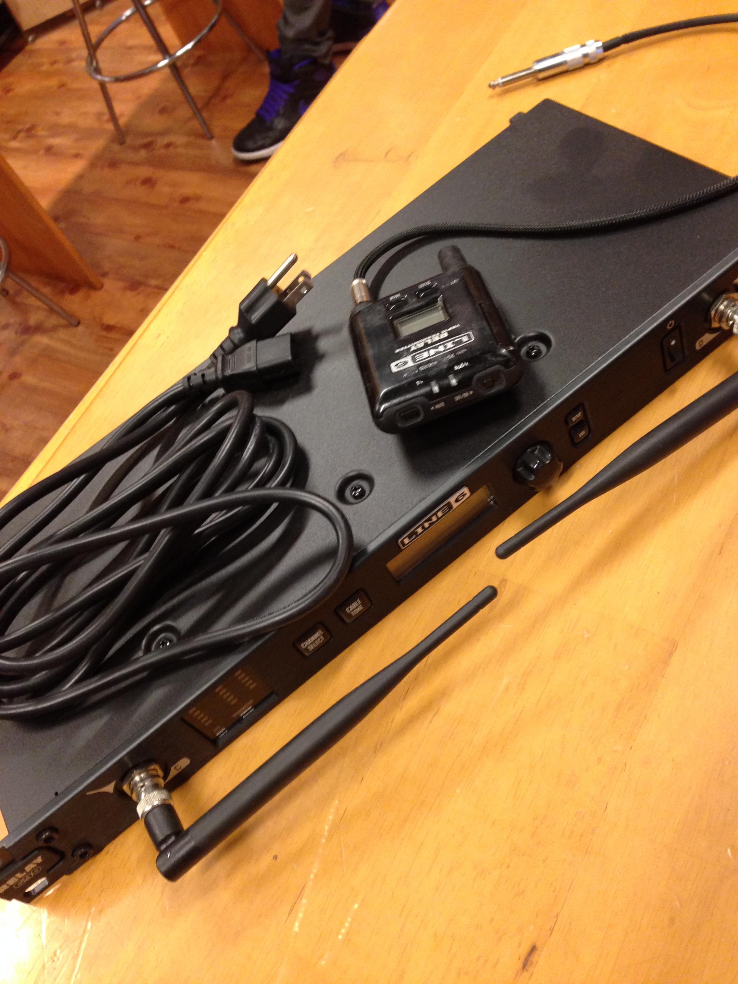 LINE6 ワイヤレスG-90の修理見積もりが来ましたよ!っと♪